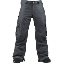 Burton 2012 Cargo Snow Pants - Waterproof (For Men) in Quarry - Closeouts
