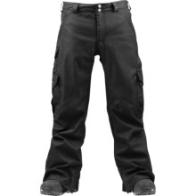 Burton 2012 Cargo Snow Pants - Waterproof (For Men) in True Black - Closeouts