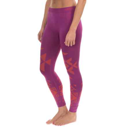 Burton Active Seamless Base Layer Tights (For Women) in Grapeseed - Closeouts