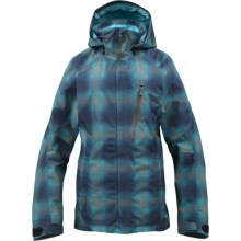 Burton AK 2L Altitude Gore-Tex® Jacket - Waterproof (For Women) in Heathers Gemini Pld - Closeouts