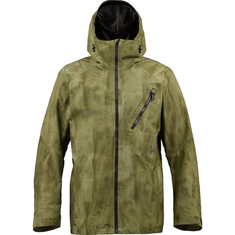 Burton AK 2L Cyclic Gore-Tex® Snowboard Jacket - Waterproof (For Men) in Unreal Camo