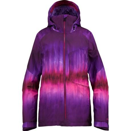 Burton AK 2L Embark Gore-Tex® Snowboard Jacket - Waterproof, Insulated (For Women) in Willow