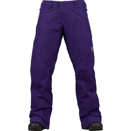 Burton AK 2L Stratus Gore-Tex® Snowboard Pants - Waterproof (For Women) in Cirrus
