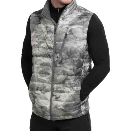 Burton AK BK Down Insulator Vest - 800 Fill Power (For Men) in Snow Akamo - Closeouts