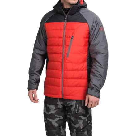 Burton AK NH PrimaLoft® Insulator Snowboard Jacket - Insulated (For Men) in Bog/Burner/True Black - Closeouts