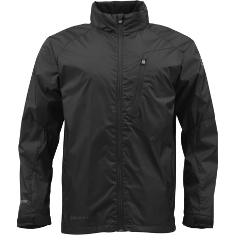Burton AK Pilot Windstopper® Snowboard Jacket (For Men) in True Black