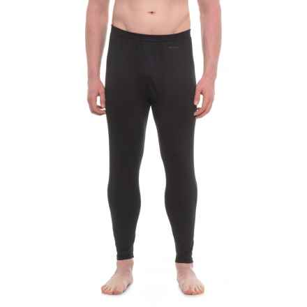 Burton AK Polartec® Power Grid® Base Layer Pants - UPF 50+ (For Men) in True Black - Closeouts