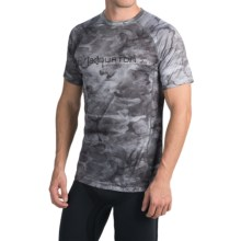 Burton AK Polartec® Power Grid® Crew Neck Shirt - UPF 50+, Short Sleeve (For Men) in Snow Akamo - Closeouts