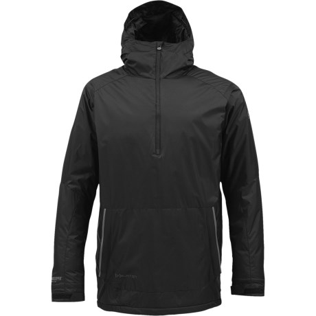 Burton AK Turbine Anorak Windstopper® Jacket - Zip Neck, Insulated (For Men) in True Black