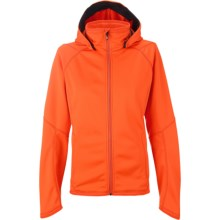 Burton AK Turbine Hooded Fleece Jacket (For Women) in Flare - Closeouts
