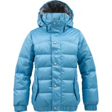 Burton Allure Puffy Down Snowboard Jacket - 550 Fill Power (For Girls) in Avatar - Closeouts