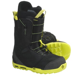 Burton Ambush Snowboard Boots (For Men) in Black/Lime