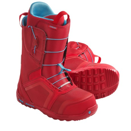 Burton Ambush Snowboard Boots (For Men) in Red