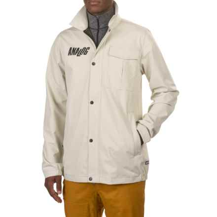 Burton Analog 3LS Foxhole Weather Wash® Jacket (For Men) in Monochrome - Closeouts
