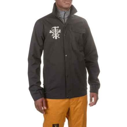 Burton Analog 3LS Foxhole Weather Wash® Jacket (For Men) in True Black - Closeouts
