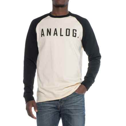 Burton Analog Agonize Shirt - Long Sleeve (For Men) in Monochrome - Closeouts