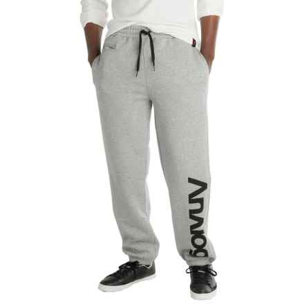 Burton Analog Company Sweatpants (For Men) in Gray Heather - Closeouts