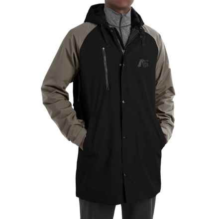 Burton Analog Stadium Parka - Insulated (For Men) in True Black/Soil - Closeouts