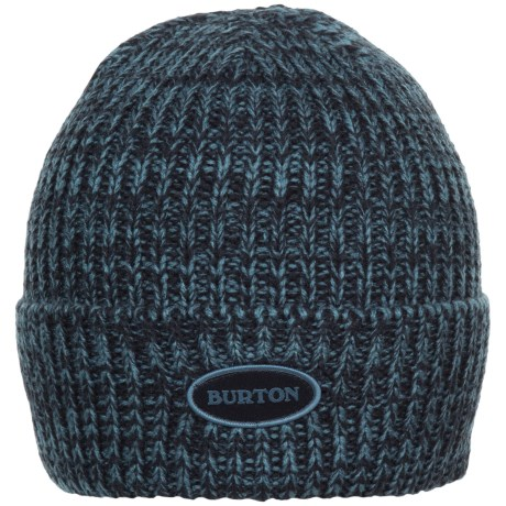 Burton Angus Beanie (For Men) in Eclipse/Washed Blue