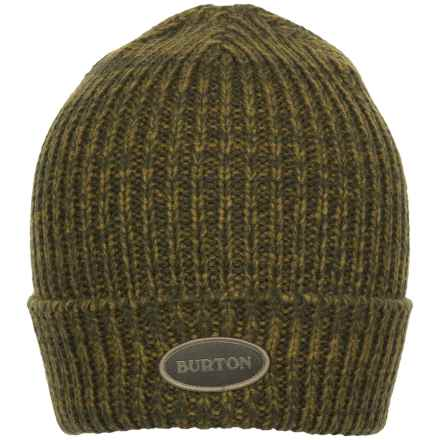 Burton Angus Beanie (For Men) in Keef/Fir - Closeouts
