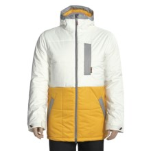 Burton Ante Up Puffy Jacket - Insulated (For Men) in Blotto Paper/Sunchoke/Iron Grey - Closeouts