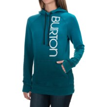 Burton Antidote Hoodie (For Women) in Celestial Heather - Closeouts