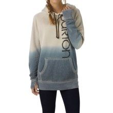 Burton Antidote Hoodie (For Women) in Dove Heather - Closeouts
