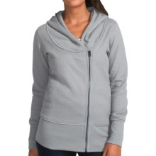 Burton Arbour Hoodie - Full Zip (For Women) in Monument Heather - Closeouts