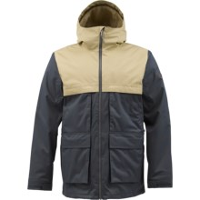 Burton Arctic Jacket - Insulated (For Men) in Quarry/Burlap - Closeouts