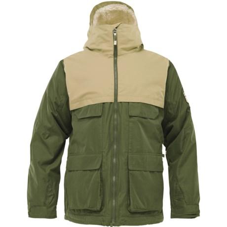 Burton Arctic Jacket - Insulated (For Men) in Sherwood/Grayeen