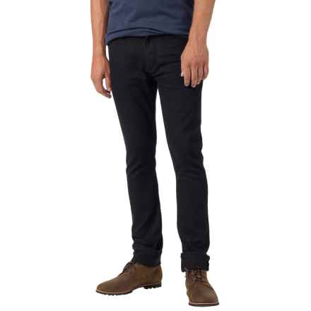Burton B77 Skinny Jeans - Low Rise (For Men) in True Black - Closeouts