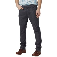 Burton B77 Slim Jeans - Low Rise (For Men) in Indigo Rinse - Closeouts