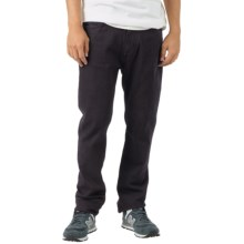 Burton B77 Slim Jeans - Low Rise (For Men) in True Black - Closeouts