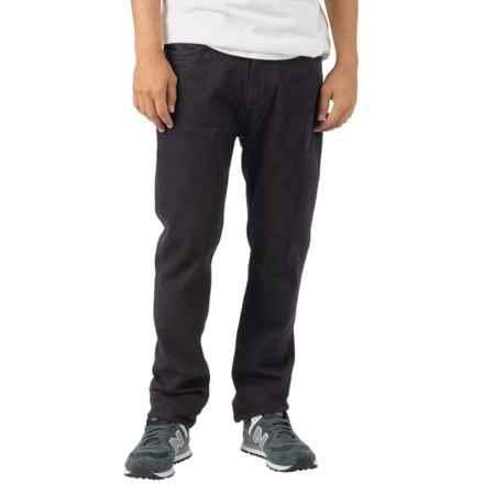 Burton B77 Slim Jeans - Low Rise (For Men) in True Black - Closeouts