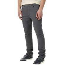 Burton B77 Slim Straight Jeans - Mid Rise (For Men) in Gray - Closeouts