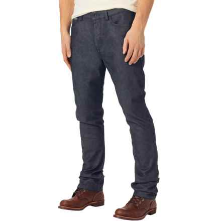 Burton B77 Slim Straight Jeans - Mid Rise (For Men) in Indigo Rinse - Closeouts