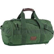 Burton Backhill 40L Duffel Bag in Green Mountain Green - Closeouts