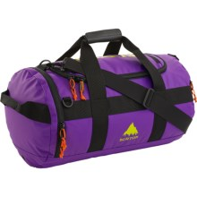 Burton Backhill 40L Duffel Bag - Tarpaulin in Grape Crush Tarp - Closeouts