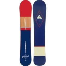 Burton Barracuda Snowboard in 157 Dark Blue/Red/Wood/Dark Blue/Red - 2nds