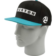 Burton Barred Hat (For Men) in True Black - Closeouts
