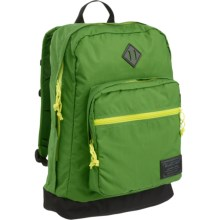 Burton Big Kettle 24L Backpack in Online Lime Ripstop - Closeouts