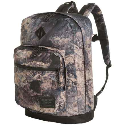 Burton Big Kettle 26L Backpack in Earth Print - Closeouts