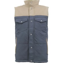 Burton Biggs Puffy Thinsulate® Vest - Insulated (For Men) in Quarry - Closeouts