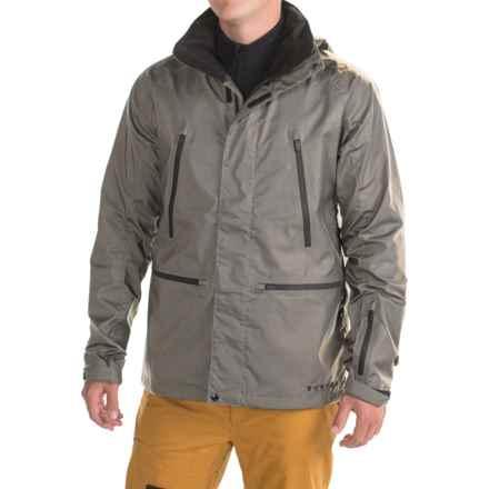 Burton Black Scale Harbor Jacket (For Men) in Gray Reflective - Closeouts