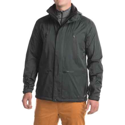 Burton Black Scale Harbor Jacket (For Men) in True Black - Closeouts