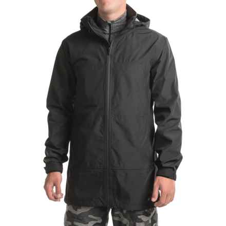 Burton Black Scale Outbreak Snowboard Jacket - Waterproof (For Men) in True Black - Closeouts