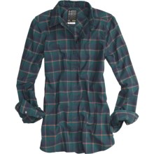 Burton Blitz Flannel Shirt - Snap Front, Long Sleeve (For Women) in Hex - Closeouts