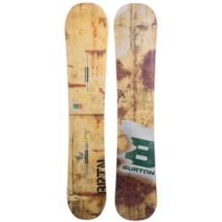Burton Blunt Snowboard in 157 Concrete/N.Y.C. Metal