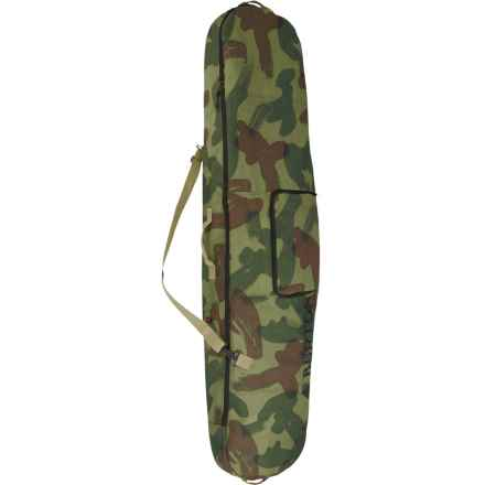 Burton Board Sack Snowboard Bag in Denison Camo - Closeouts