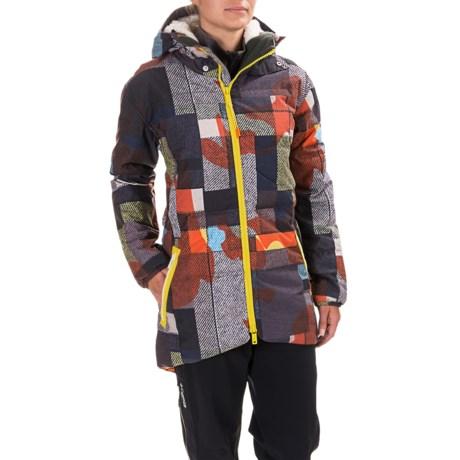 Burton Bolan Down Jacket - Waterproof, 650 Fill Power (For Women) in Camo Plaid